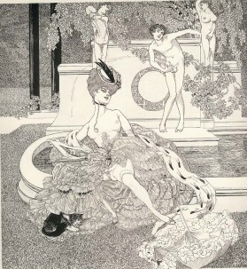 The Amorous Drawings of the Marquis von Bayros 7