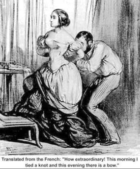 victorian corset adultery