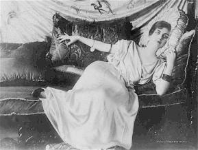 Victorian in recline