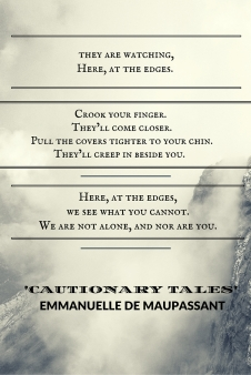 quote from cautionary tales Emmanuelle de Maupassant erotic fiction literature