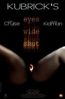 Eyes Wide Shut - promotional film poster