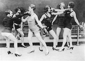 ladies boxing