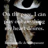 Emmanuelle de Maupassant quote