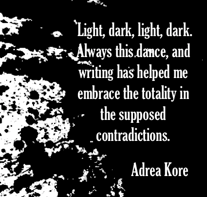 Adrea Kore author quote erotic literature writing craft