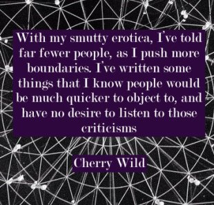 Cherry Wild erotic fiction author
