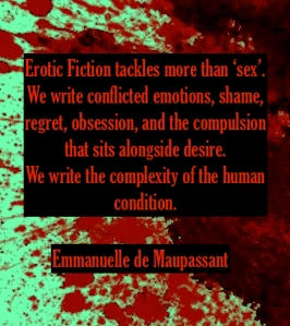 Emmanuelle de Maupassant erotic fiction quote
