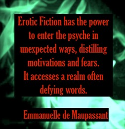 Emmanuelle de Maupassant quote erotic fiction