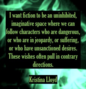 Kristina Lloyd erotic fiction author quote emmanuelle de maupassant