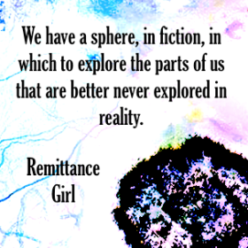 Remittance Girl quote fiction reality author erotic fiction