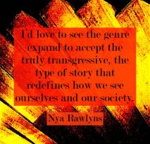 Nya Rawlyns author quote erotic fiction literature 21st century Emmanuelle de Maupassant