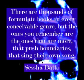 Sessha Batto author quote erotic fiction