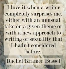 Rachel Kramer Bussel erotic fiction writer interview