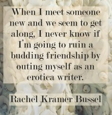 Rachel Kramer Bussel quote erotic fiction writing