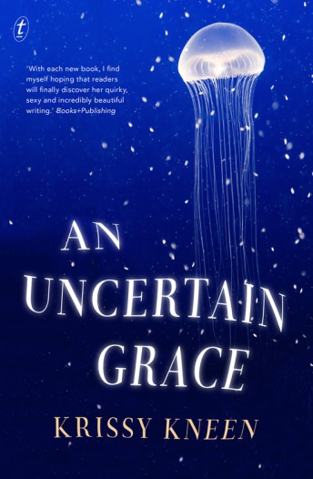 krissy kneen author interview uncertain grace
