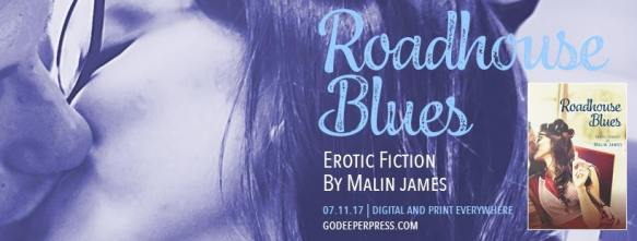 Malin James Roadhouse Blues erotic fiction short stories
