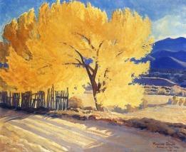 Maynard Dixon 1931 October Gold