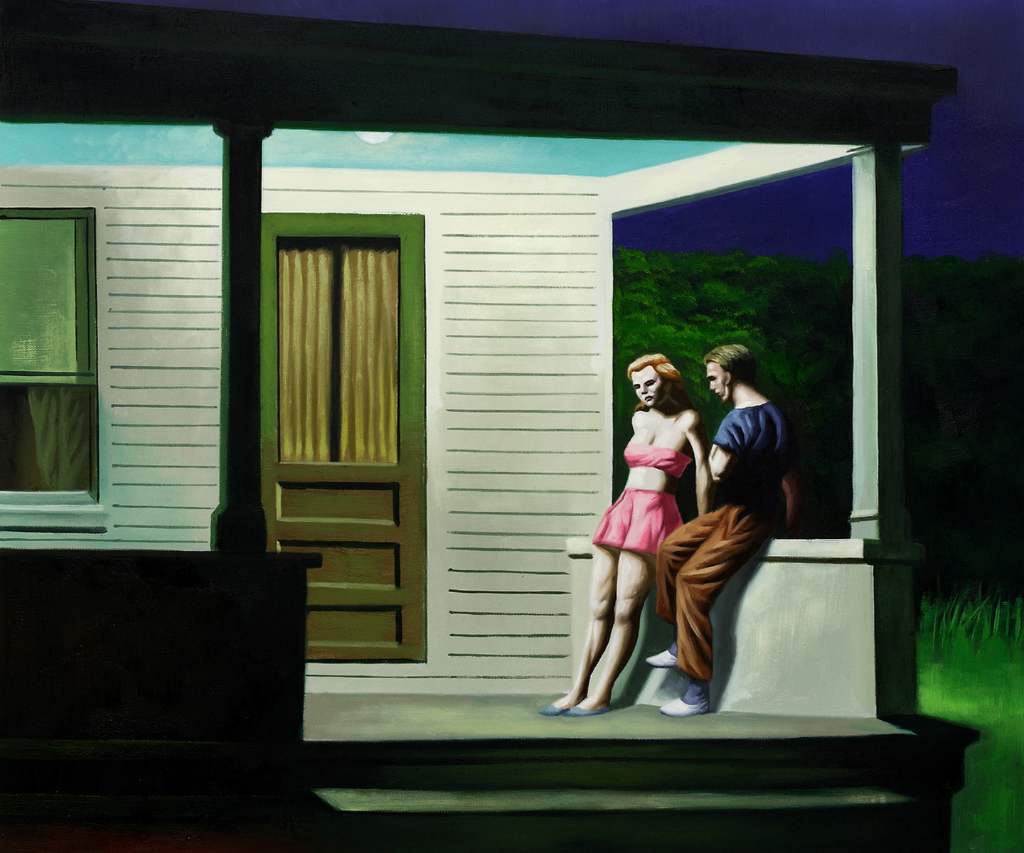 Edward Hopper Summer Evening