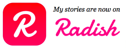 Radish logo - reading books