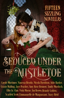 new cover Seduced Under the Mistletoe -