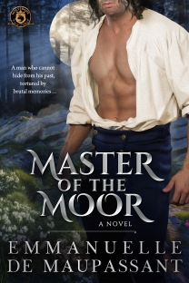 book cover - MASTER OF THE MOOR. Emmanuelle de Maupassant